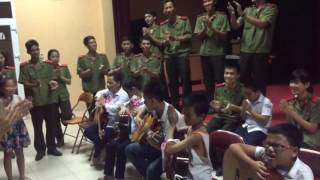 Lớp guitar trường Nguyễn Đình Chiểu