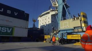 jsv logistic nueva linea de contenedores motril gnova