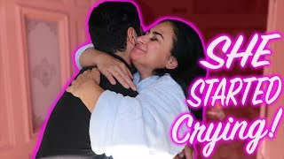 I MADE MY MOM CRY    ***Happy Tears***