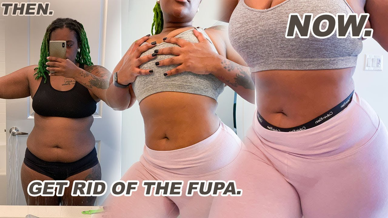 HOW TO GET RID OF YOUR FUPA  Beginner Ab Workout for a Flat Tummy