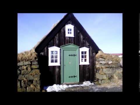 The Icelandic turf church at Árbær farm (Reykjavik museum)