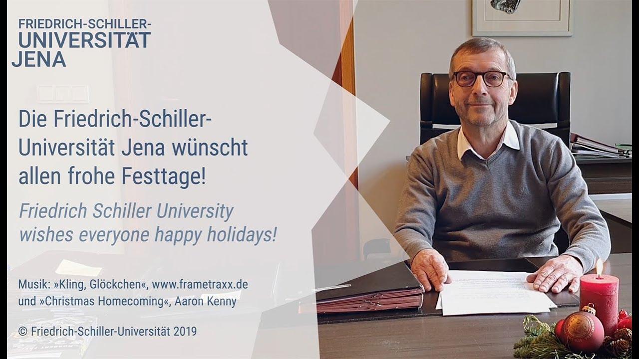 Universität Jena - Weihnachtsansprache des Präsidenten 2019