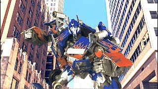 Optimus Prime Transformation in Stop Motion - Transformers Movie Masterpiece Animation