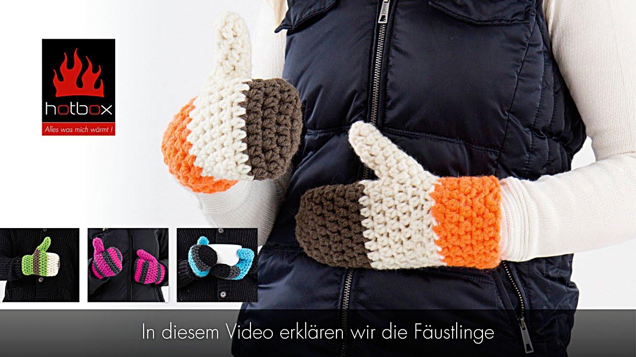 Schön Fäustling Häkelmuster Fotos - Strickmuster-Ideen ...