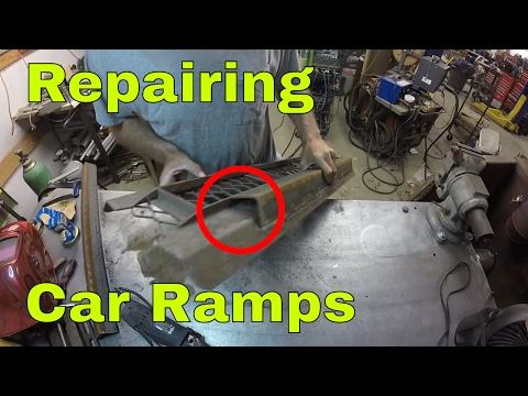 Fixing Car Ramps, Welding