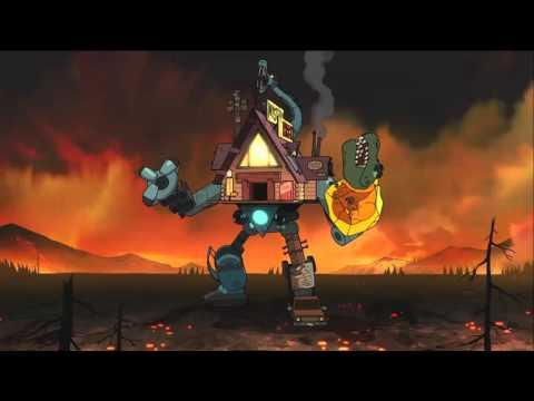 Gravity Falls - Weirdmageddon 3 Take Back The Falls Soundtrack: Shacktron Battle
