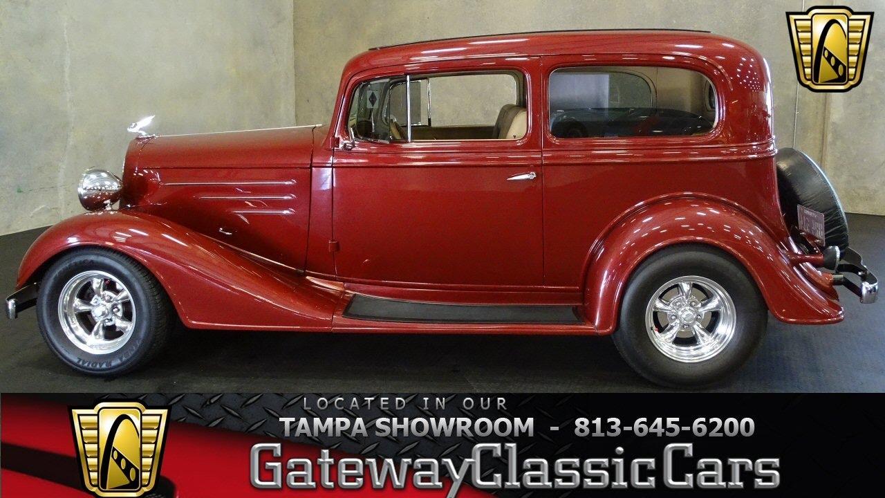 1934 Chevrolet Sedan Deluxe - stock#764-TPA