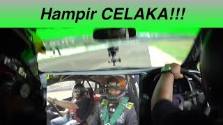 Driving Racing Honda Jazz in Sentul Race Track
