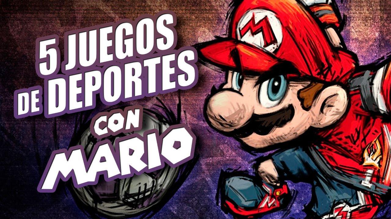 5 Juegos de Deportes con Mario Bros I Fedelobo