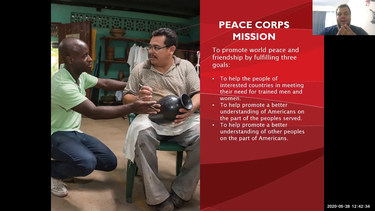 Peace Corps Virtual Information Session