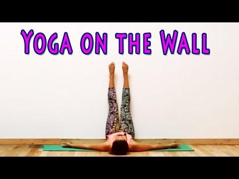 Yoga at the Wall Yoga with Gloria Baraquio