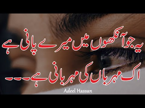 Amazing Heart Touching Poetry|Sad Poetry|Urdu Poetry|2 line heart touching shayri|Urdu shayri|Hindi thumbnail