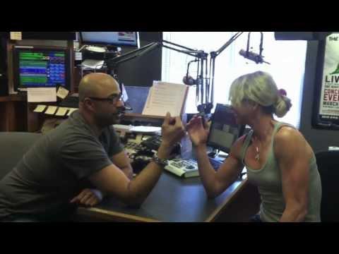 97ZOK&39;s Steve Shannon Show Arm Wrestle