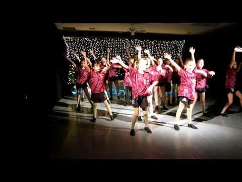 Megan's Polar Express Dance