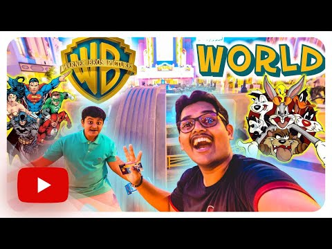 Warner Bros. World (WB WORLD) ABU DHABI – YAS ISLAND  || REVIEW VLOG !!!