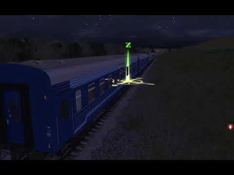 Поезд Воронеж - Москва во главе с ТЭП70БС