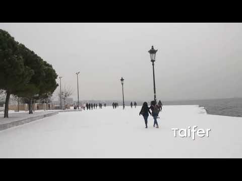 Όταν η Νύμφη του Θερμαϊκού ντύνεται στα λευκά | Thessaloniki Snow White