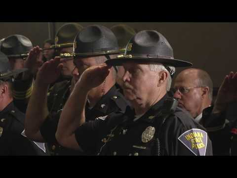 Indiana State Police - 2017 Memorial Services