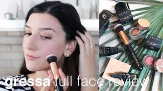 Gressa Skin Full Face Review   Clean, Green Beauty