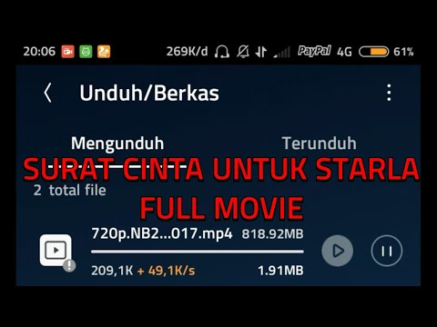 Link Download Film Surat Cinta Untuk Starla(2017) full Movie