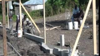 Germer Haiti Poultry Pen 1 Construction