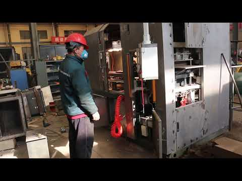 flaskless molding machine testing before delivery