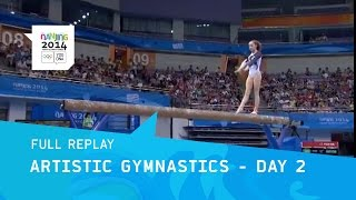 Gymnastics- Women's Qualification  | Full Replay | Nanjing 2014 Youth Olympic Games