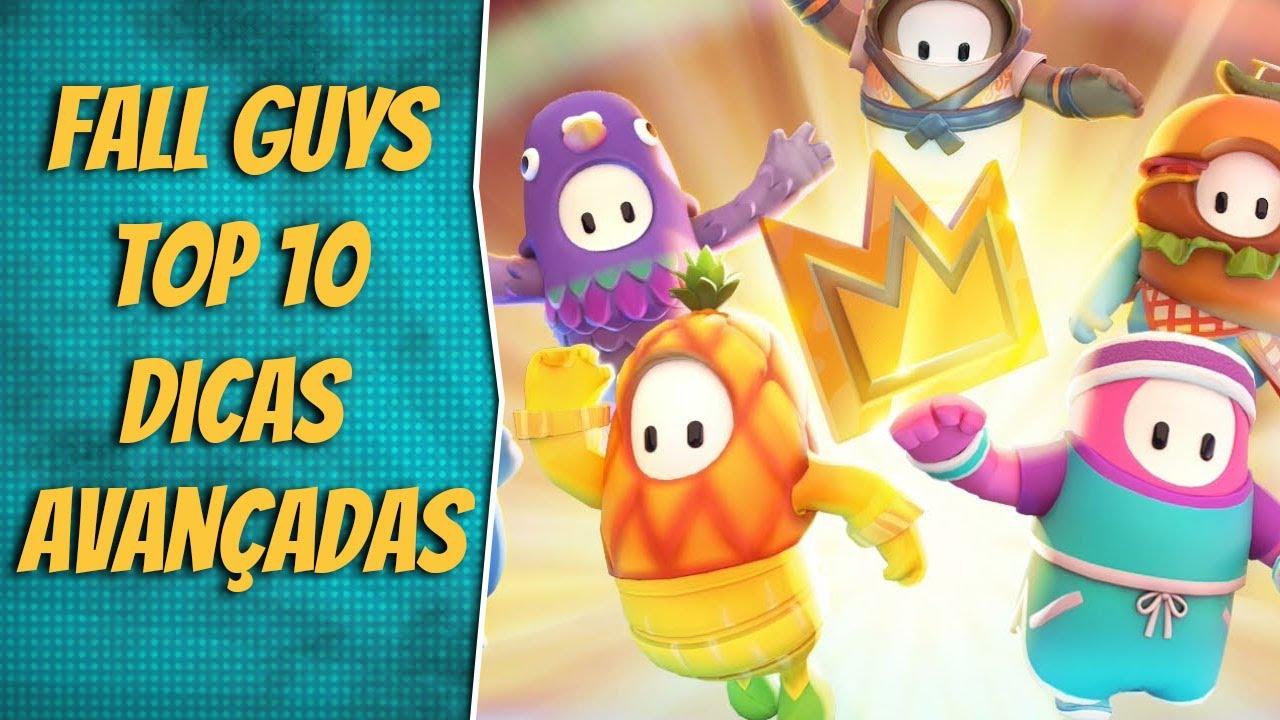 Download FALL GUYS | TOP 10 DICAS AVANÇADAS - COMO GANHAR/VENCER A COROA/PLATINA! - PS4/PC TUTORIAL/GUIA #3