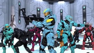 Red vs Blue: Turn down for what (action montage)