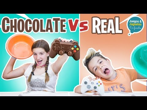 CHOCOLATE vs REAL // Familukis