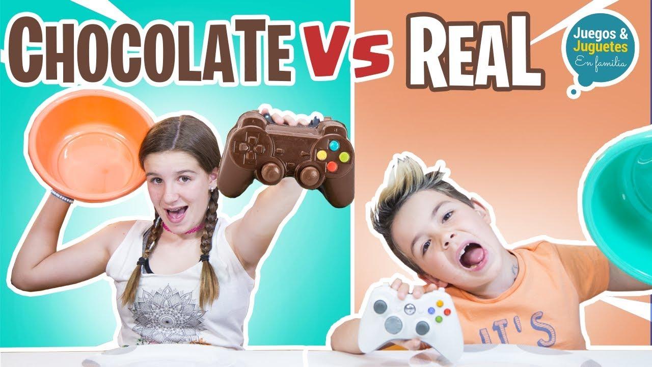 Chocolate Vs Real Familukis Youtube