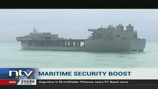 US naval ship docks in Mombasa for the first time in decades