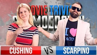Rachel Cushing VS Nick Scarpino - Movie Trivia Schmoedown