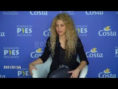 Shakira - Interview in Barcelona (27 September 2017)