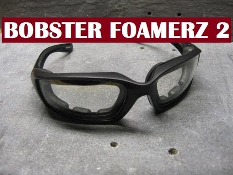f700d4d75f Bobster Foamerz 2 Eye Protection Review - YouTube