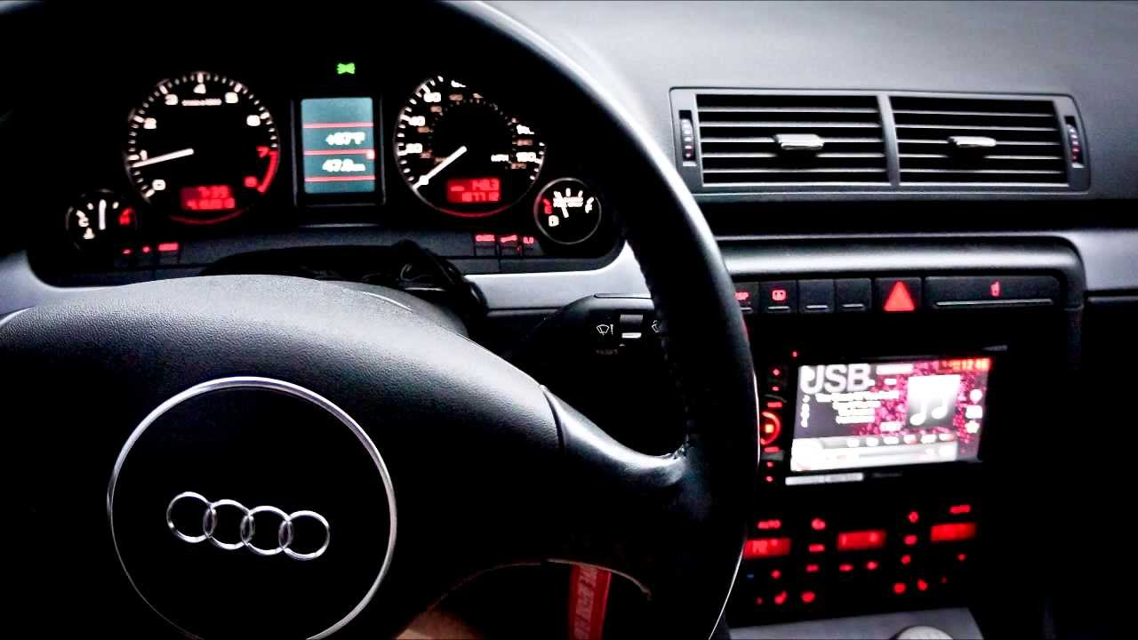 Audi S4 Symphony Radio Removal And Double Din Pioneer