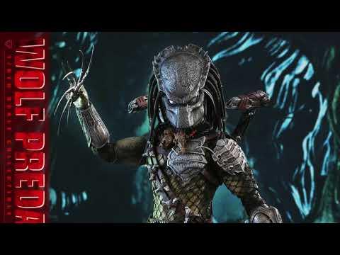 Aliens VS Predator: Requiem Hot Toys Wolf Predator 1/6 Scale Movie Figure Reveal!