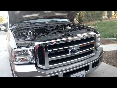 F-250 Powerstroke 6.0 Bulletproof EGR and Oil Cooler Install Part #1