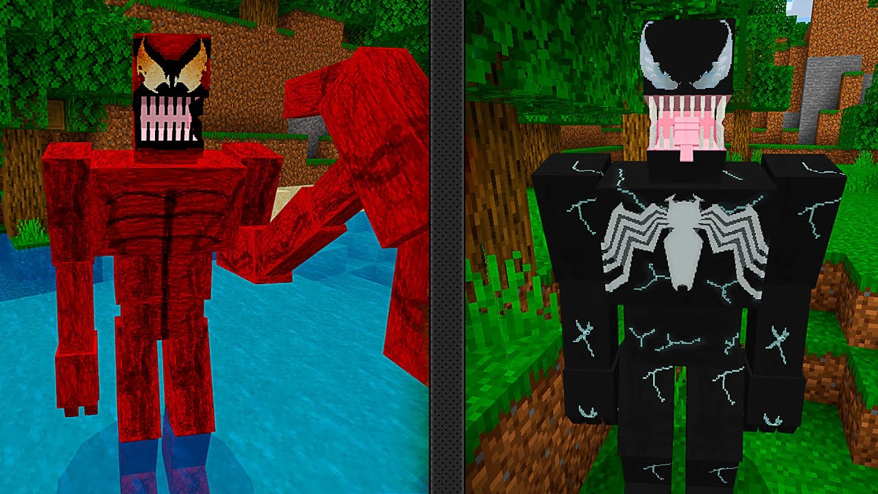 NOVO MOD do VENOM e CARNIFICINA no MINECRAFT « Nitro »