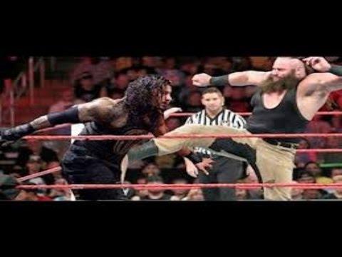 5 March 2017 WWE Fastlane Roman Reigns vs Braun Strowman Full Match HD