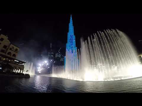 Dubai Summer Surprises (DSS) Opening at Burj Khalifa 2020