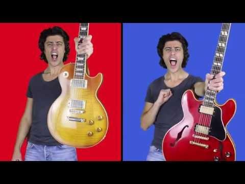 Gibson Les Paul vs Gibson ES-335 (ES-345)