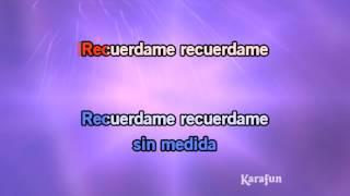 Karaoke Recuérdame - La 5a estación *
