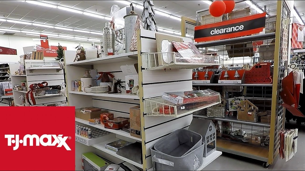 TJ MAXX AFTER CHRISTMAS CLEARANCE SALE -- CHRISTMAS 2018 SHOPPING  DECORATIONS ORNAMENTS DECOR