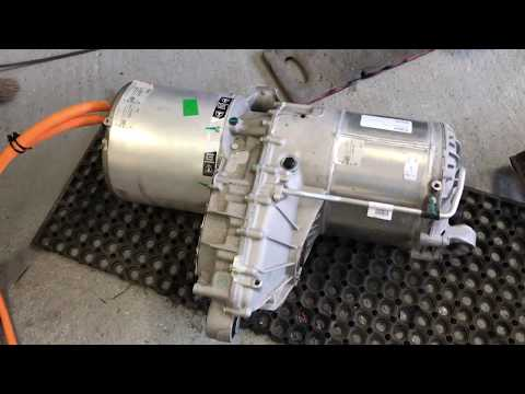 Repeat Fitting of Tesla drive unit, chevy volt battery box