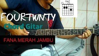 Chord Gitar fOURTWNTY - Fana Merah jambu (Cover Gitar) Mudah