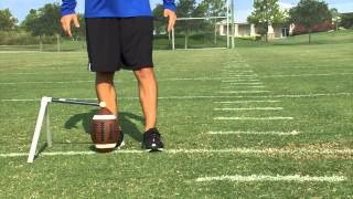 How to Kick a Field Goal Series by IMG Academy Football (1 of 5)