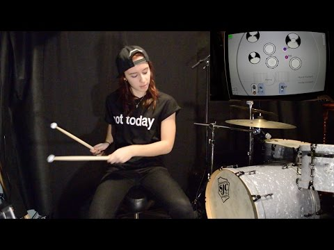 Aerodrums - A Virtual Drum Kit!!!