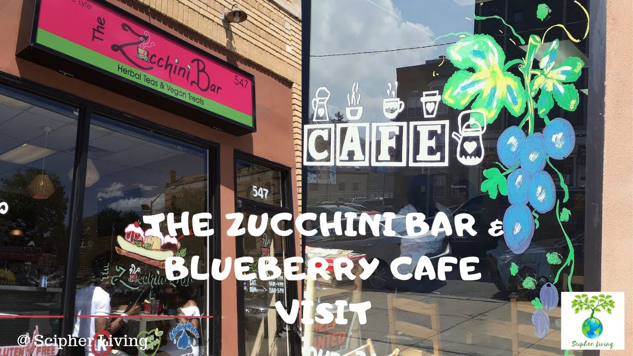 Zucchini Bar & Blueberry Cafe Visit | DR. SEBI APPROVED