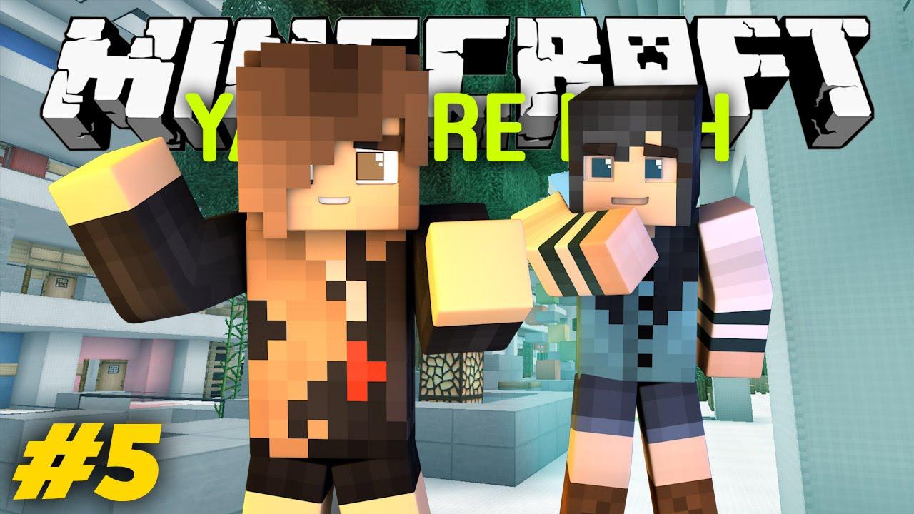 Yandere High School - Scavenger Hunt S1 Ep5 Minecraft -3440
